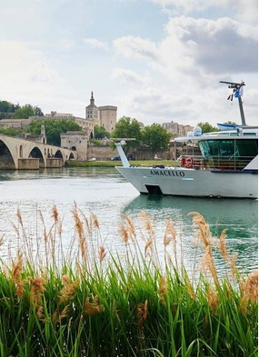 AmaCello on a Rhône river cruise