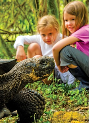 Small ship family cruises - Lindblad Expeditions in the Galapagos
