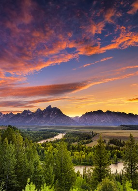 North & South America river cruise guide - Snake River & Grand Teton National Park, USA