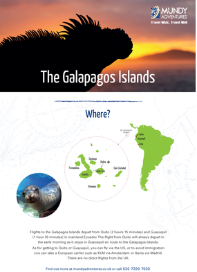 Mundy Adventures - Galapagos guide