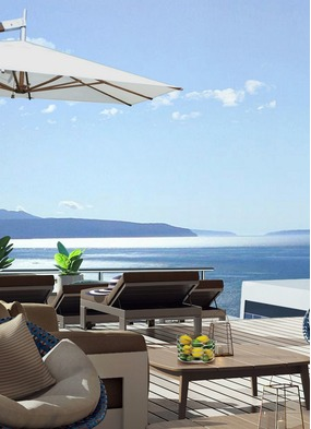 Ritz-Carlton Yacht Collection cruise - Marina (artist's impression)