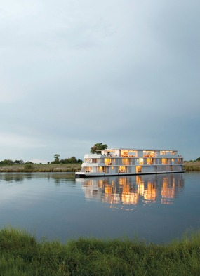 Zambezi Queen river cruise on the Chobe