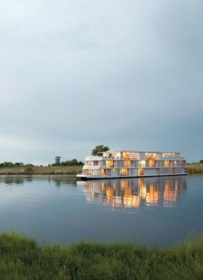 Zambezi Queen river cruise on the Chobe