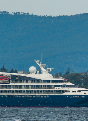 Vive le France: on board Le Lapérouse - Le Lapérouse ship