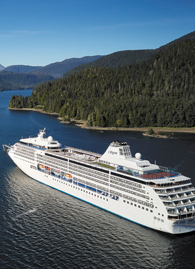 Regent Seven Seas Mariner, one of the best small ship cruises to Alaska