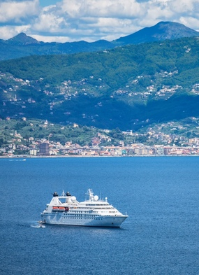 Windstar's Star Legend on a short break cruise