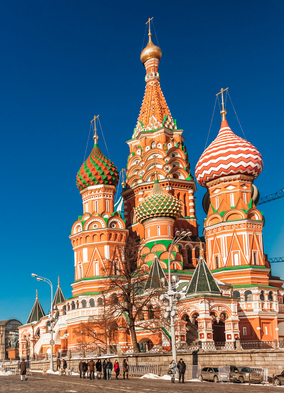 Russian Waterways cruise - Red Square, Moscow