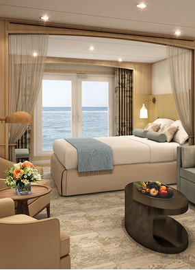 Windstar refurbishment - Star Balcony Suite