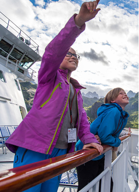 Family cruise ideas - Hurtigruten