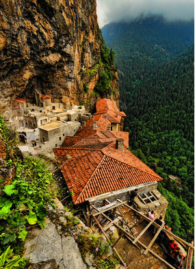 Sumela monastery, a highlight of some of the best Black Sea cruises