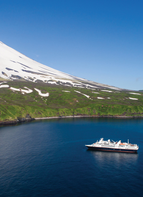Summer expedition cruises - Silversea in the Russian Far East
