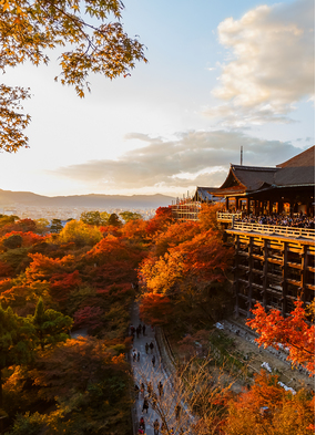 Autumn expedition cruises - Kyoto, Japan
