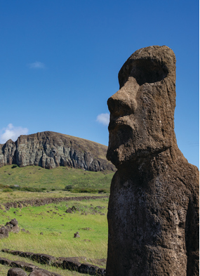 Easter Island, one of the most remote island you can visit on an expedition cruise