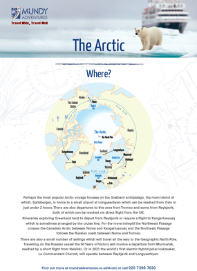 Mundy Adventures Arctic Guide 2019