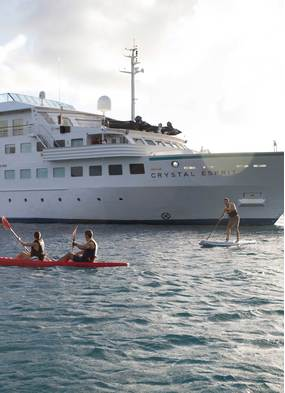 Charter a cruise ship like Crystal Esprit for a very special holiday