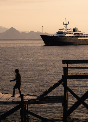 Aqua Blu on an Indonesia cruise - Read our review to find out more