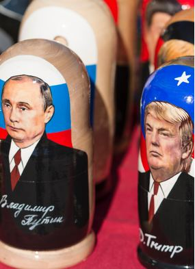 Russian dolls of Trump and Putin - Geopolitics looms large over cruise travel in 2020