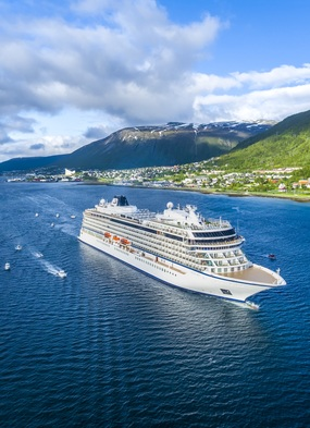 Viking Ocean Cruises - Viking Sky new ship launch in Tromso