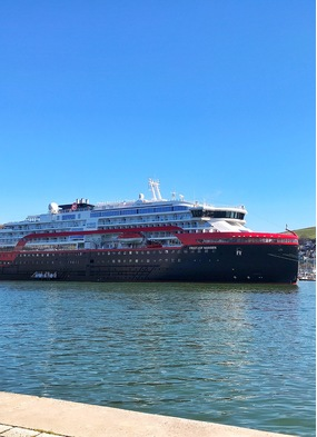 Hurtigruten's MS Fridtjof Nansen - Read our review to find out more