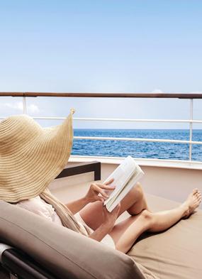Enjoying a digital detox on a Silversea cruise