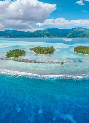 Paul Gauguin in French Polynesia, one of the Mundy Cruising team's top travel memories