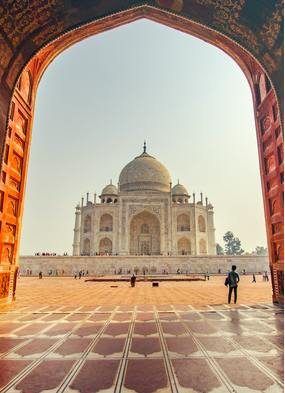 The Taj Mahal, a top choice for a cruise and stay combination