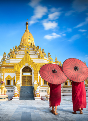 Yangon, Myanmar - Check out our favourite books, films and TV from the Far East for travel inspiration