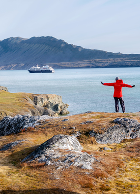 Solo traveller on a Silversea expedition cruise