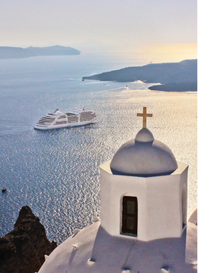 Silversea, one of the best small ship cruise lines in the Mediterranean