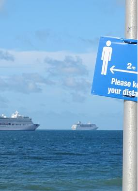 Cruise ships wait to resume operations after Covid-19