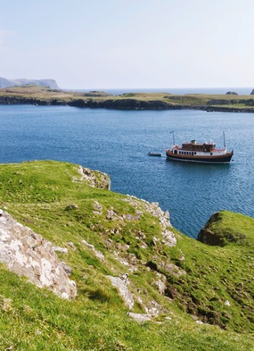 The Majestic Line, one of the best options for a small ship cruise to Scotland
