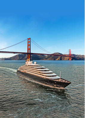 Scenic Eclipse in San Francisco, one of the best USA cruise destinations