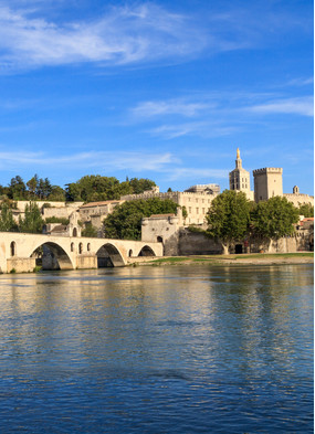 Avignon, France, one of the highlights of a Rhone and Saone river cruise