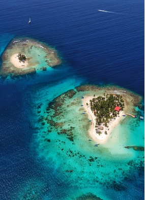 Panama's San Blas Islands, one of our favourite secret small cruise ports in the Caribbean