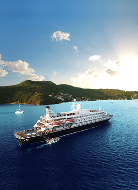 Chartering a SeaDream yacht is one of our top luxury cruise experiences to treat yourself post-pandemic