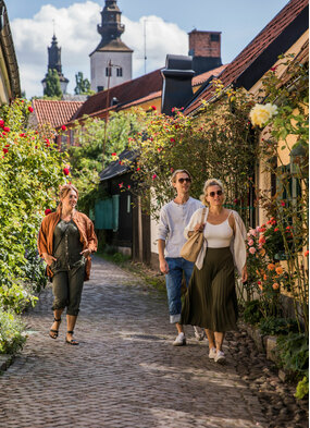 Visby, Sweden, one of the best small cruise ports in the Baltic