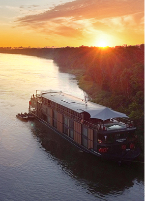 Aqua Nera on the Amazon, one of the exciting new exotic river cruise options