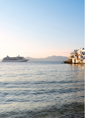 Seven Seas Voyager, a small ship that defies the many myths about cruising