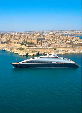 Scenic Eclipse in the Mediterranean, a gentle introduction to luxury expedition cruising