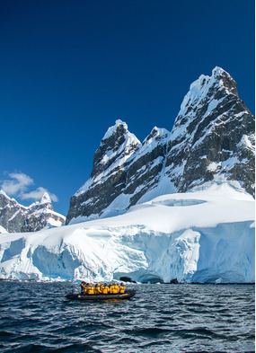 Exploring Antarctica's Lemaire Channel with Quark Expeditions