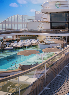 Oceania Vista, one of the exciting new luxury cruise ships arriving in 2023