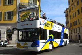 Open top bus, Nice