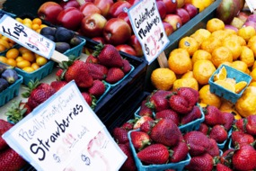 Fruit at Pike Place Market, Seattle