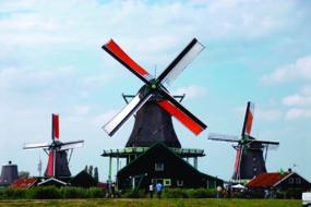 Zaanse Schans windmills, Zaandam