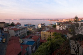 View over Valparaiso, Chile