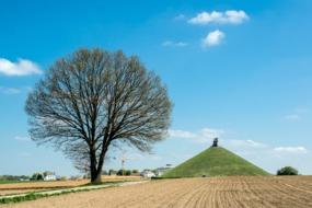 Lion's Mount monument, Waterloo