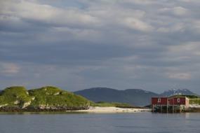 Coast around Tromso, Norway