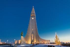 Hallgrímskirkja church, Reykjavik