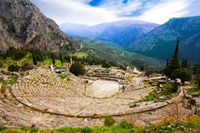 Delphi amphitheatre