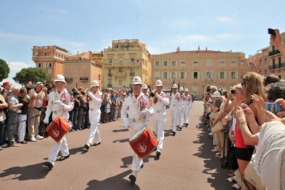 Changing of the Guard at the Prince's Palace, Monaco
